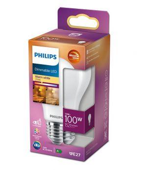 Led-lamppu DIM E27 12W (100W) matta