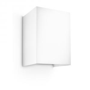 Hopsack seinävalaisin valkoinen