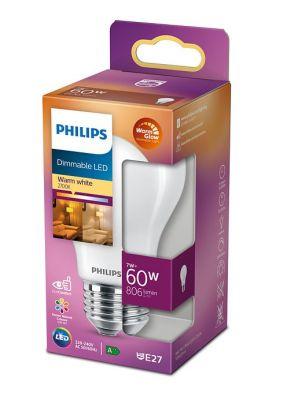 Led-lamppu DIM E27 7W (60W) matta