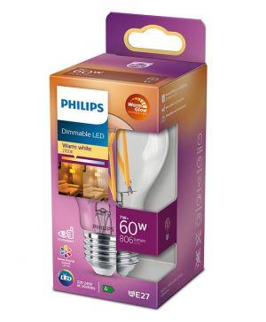 Led-lamppu DIM E27 7W (60W) kirkas