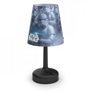 Stormtrooper black LED pöytävalaisin