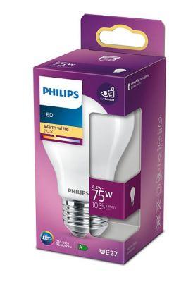 Led-lamppu E27 8,5W (75W) matta