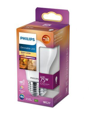 Led-lamppu DIM E27 10,5W (75W) matta