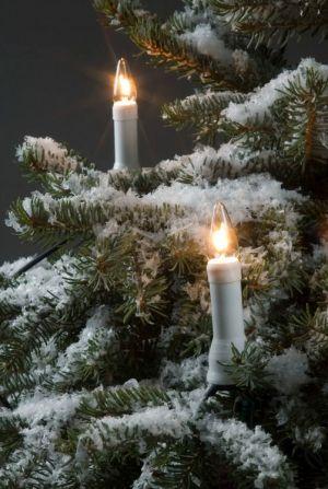 Kuusenkynttilät ulos (30 kynttilää)