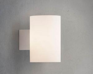 Evoke seinävalaisin lasi valkoinen