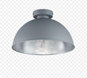 Jimmy plafondi harmaa/hopea