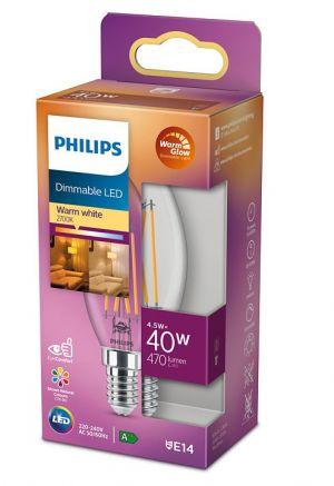 Led-lamppu DIM 4,5W (40W) E14 kynttilä kirkas