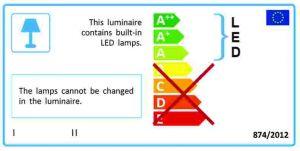 Saunaan soveltuva led-lamppu E14-kannalla.