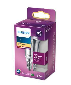 Led-kohdelamppu R50 E14 2,8W vastaa 40W.