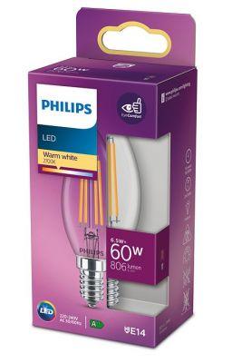 Led-lamppu 6,5W (60W) E14 kynttilä kirkas
