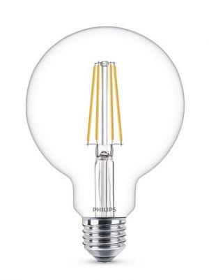 Led-lamppu E27 kirkas pallokupu vastaa 60W.