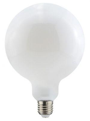 Led-lamppu E27 pallokupu matta vastaa 60W.