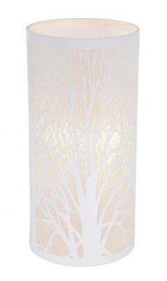 Metsä pöytävalaisin valkoinen