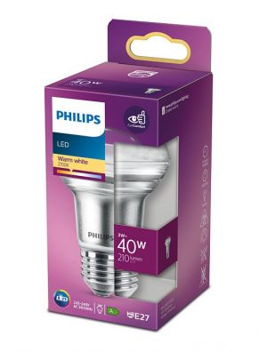 Led-kohdelamppu R63 E27 3W (40W)