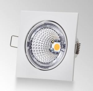 Universal Design Spot S102 valkoinen ambient, 3000K neliökehys 9W
