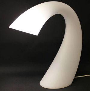 Swan pöytävalaisin valkoinen