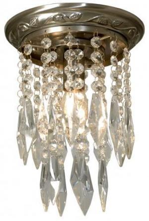 Kristalliplafondi T371 oxid (antiikkimessinki)