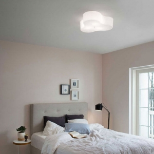 Triple plafondi 60 cm valkoinen