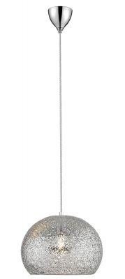 Väre riippuvalaisin kromi 40 cm valkoisella taustalla.