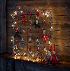 Wilbur valaistu joulukalenteri